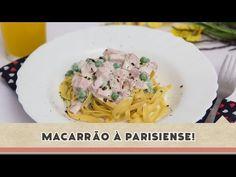 ▶ Macarrão à Parisiense - Receitas de Minuto #121 - YouTube