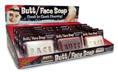 Butt Face Soap White/Brown 5.5oz ( for ages over 5 )  Health and Beauty