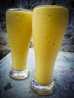 Mango #MilkShake This made the summers welcome and bearable! #Street #Food #India #ekPlate #ekplatemilkshake