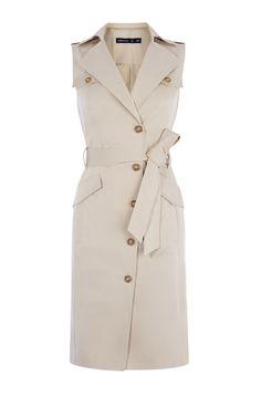 Karen Millen, Safari-jurk met zakken Steen