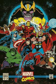 Avengers Poster, Comic Poster, Star Wars Poster, Poster Marvel, Poster Poster, Marvel Comics Superheroes, Marvel Avengers, Spiderman Marvel, Comics Girls