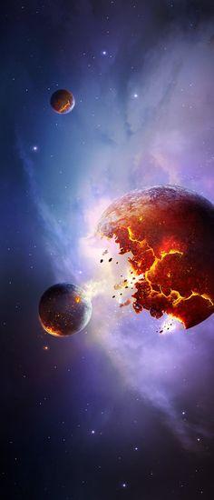 Supernova Explosion by charmedy.deviantart.com on @deviantART