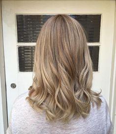 Empress Hair Brisbane - Monique - Blonde Balayage Ash Short Curls