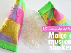 Easy shakers for kids to make