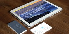 WestOne website & business card design