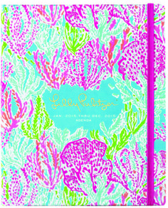 Cahoon's Closet - Lilly Pulitzer 12 Month Planner Agenda - Let's Cha Cha, $34.00 (http://www.cahoonscloset.com/shop-by-category/stationery-calendars/lilly-pulitzer-12-month-planner-agenda-lets-cha-cha/)