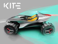 Turin IED and Hyundai preview Kite buggy concept #conceptcar #ied #cardesign #carbodydesign #buggy #geneva2018