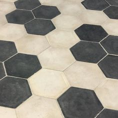 Hex-a-love #tabarkastudio #strada #hexagon #blackandwhite #floor #tiles #geometric #living #pattern #architectural #interior #interiordesign #black #white #style by tabarkastudio