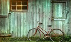 Bicycle leaning against grungy barn. Old bicycle leaning against grungy barn , Vintage Bicycle Parts, Old Bicycle, Bicycle Art, Old Bikes, Vintage Bicycles, Bicycle Shop, Bicycle Tattoo, Wooden Bicycle, Bicycle Basket