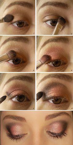 Passo a passo de maquiagem para  dia por Stefany Silveira