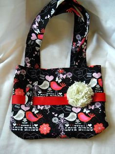 Craft Couture: Little Girl Purse Tutorial