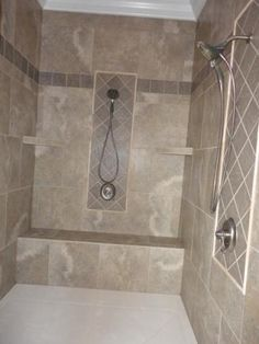 Travertine Tile Shower Ideas the ultimate travertine tile shower. #thetileshop | bathroom