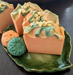 Shea Butter ~ Summer Peach ~ Cold Process Artisan Soap - Informations About Shea Butter ~ Summer Peach ~ Cold Process Artisan Soap Pin You can easily use my - Handmade Soap Recipes, Handmade Soaps, Sweet Peach, Soap Packaging, Lotion Bars, Cold Process Soap, Perfume, Home Made Soap, Soap Making