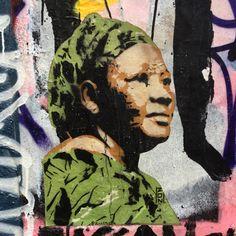 Mamma by @zonarturba #zonaturba #zon #pochoir #streetart #graffiti #graff #spray #bombing #wall #sprayart #instagraff #instagraffiti #urbanart #tv_streetart Rue Denoyez #paris