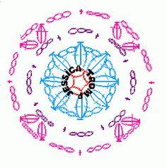 crochet granny square vierkanten haken haakpatroon