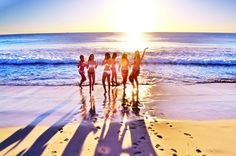 Go to the beach with my girls... Would be an amazing adventure!!! :)