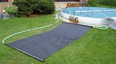 Solar Floor Matting Solar Pool Heater, Picnic Blanket, Outdoor Blanket, Diy Solar, Heating Systems, Solar System, Beach Mat, Swimming Pools, House