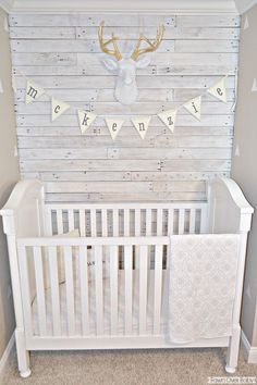 Fawn Over Baby: DIY: White Washed Pallet Wall