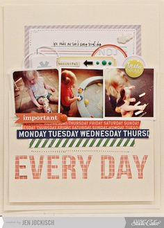 Studio Calico October Kit - Every Day - Two Peas in a Bucket