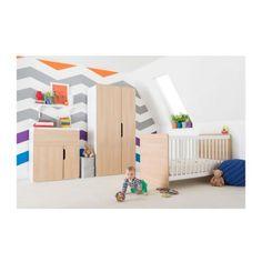 Kiddicare Oulu Nursery Furniture Cot Bed Roomset Modern Mix