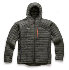 Scruffs - Expedition Thermo Hooded Jacket by Robert Noble Scruffs Workwear, Casual Work Wear, Jacket Brands, Sport Fashion, Bubble, Hooded Jacket, Hoods, Charcoal, Winter Jackets