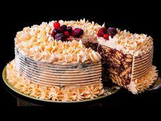 Egy fenséges sütés nélküli torta? Igen! Lehetséges!| Ízletes TV - YouTube Dessert Party, Party Desserts, Gorgeous Cakes, Cake Toppings, Sugar, Cheese, Dishes, Baking, Recipes