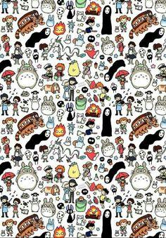 Miyazaki's collage ❤❤❤