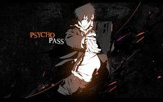 Psycho Pass WallPaper by Cyrux-gfx.deviantart.com on @deviantART - rewatching in dub and I think they did a pretty good job with cast and script
