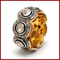 #AntiqueBand #Diamondband #Vintagering #Victorianband