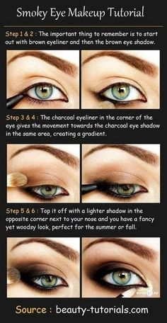 Smoky eye makeup tutorial xx