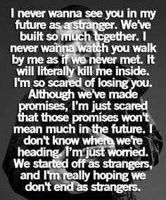 Literalmente me está matando. Jamás pensé este final y siento que, cada día que pasa, nos alejamos un poquito más..