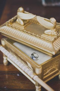 Indiana Jones Ark Of The Covenant Wedding Ring Box!! @Katy Gaither