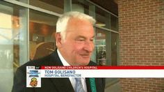 Hospital benefactor Tom Golisano shares what it means to him to have the new facility in his name.