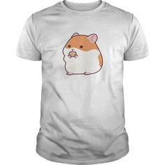 Cute Hamster Emoji Funny Novelty Tee