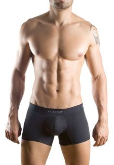 Boxer sexy de hombre de tejido elastico con finos puntitos y banda elastica 93e918e3b715