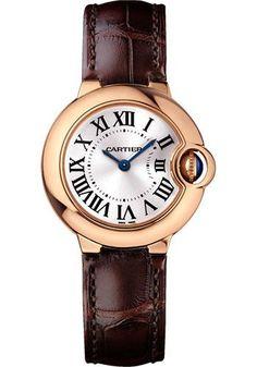 Cartier Ballon Bleu 28mm - Pink Gold Watch WGBB0007