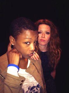 Samira Wiley and Natasha Lyonne - Orange is the New Balck