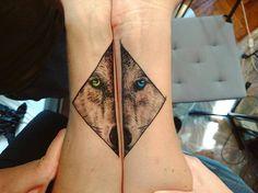 Wolf Tattoo by thommesen_ink
