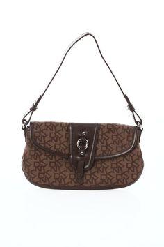 DKNY Brown Monogram Handbag  - $34