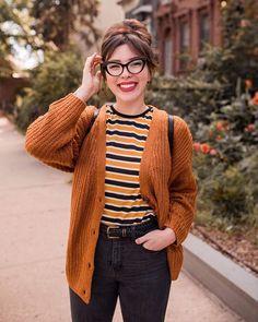 A Casual Fall Outfit (keiko lynn) Cute Nerd Outfits, Geek Chic Outfits, Casual Fall Outfits, Girl Outfits, Fashion Outfits, Womens Fashion, Geek Outfit, Fandom Outfits, Workwear Fashion