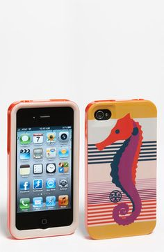tory burch seahorse iphone case... so cute!