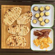 Schnelles Frühstück vom Grill