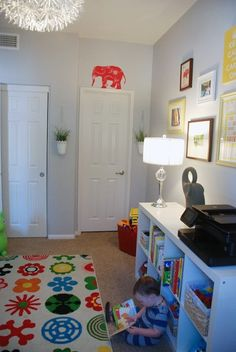 A Cheery Room Just for the Kids
