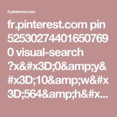 fr.pinterest.com pin 525302744016507690 visual-search ?x=0&y=10&w=564&h=742