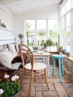 A charming, rustic conservatory | PLAZA Interiör