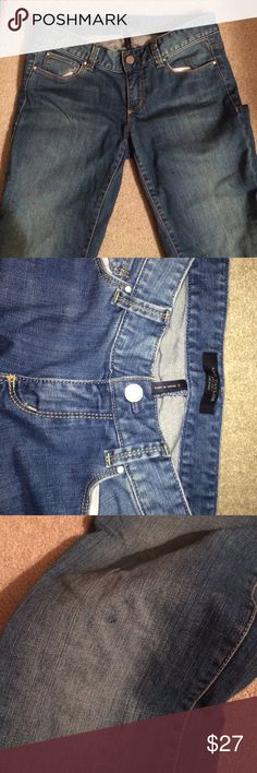 Everyday Jeans Good condition, small ink on knee..willing to negotiate Ann Taylor Jeans Straight Leg
