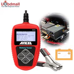 Original 2000CCA Multi Language 12V Car Battery Tester Ancel BA101 Battery Analyzer BA101 BAD Cell Test Diagnostic Tool