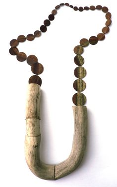 """Raw wood and the varying circles - very dynamic and engaging. """"Jenny Klemming"""""""