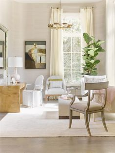 A Swoon-worthy Sitting Room by Alison Womack for the Southeastern Designer Showhouse, via @sarahsarna.