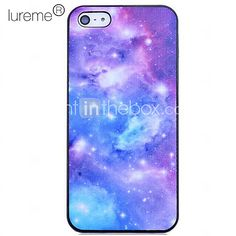 Galaxy Pattern Polycarbonate Back Case for iPhone 5/5S - USD $4.99